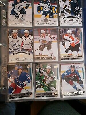 2018-2019 Upper Deck Young Guns Lot (5)