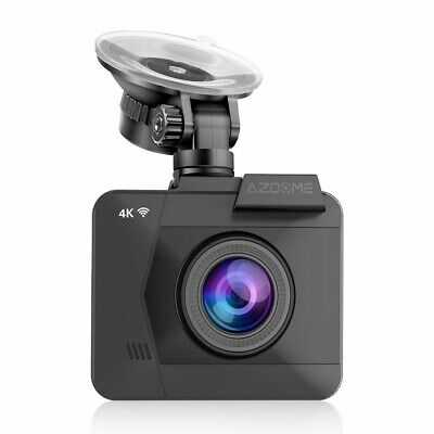 Azdome 4K Dash Cam - 2160P Ultra HD Car Camera DVR Built-in WiFi GPS Car Recorde