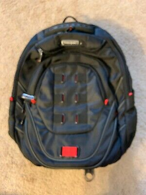 Samsonite® Tectonic PerfectFit Laptop Backpack, Black/Red NWOT