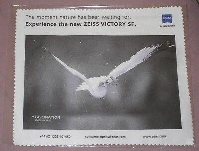 """Genuine New """"Zeiss"""" Micro Fibre Lens Cleaning Cloth."""