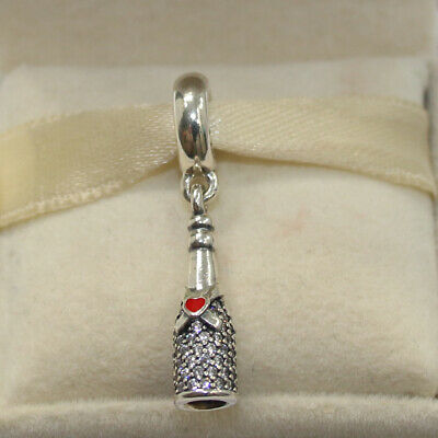 82de45b84 New Authentic Pandora Charm Celebration Time Dangle 792152CZ W Tag & Suede  Pouch