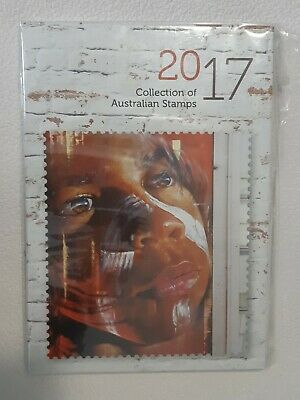 Collection of Australian Stamps 2017 Australia Post Annual Stamps Year Book MUH