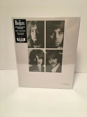 The Beatles - (The White Album) 50th Anniversary 7 CDs, 1 Blu-Ray, Boxed Set NEW