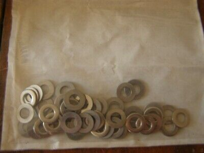 Stainless steel: 100 off washers M 8, lot 2