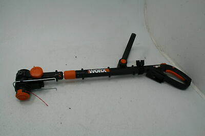 "WORX WG163.9 20V Cordless Grass Trimmer/Edger Converter Command Feed 12"" Orange"