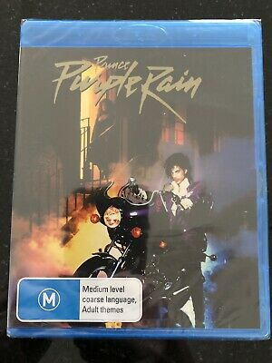 Purple Rain*****Blu-Ray*****Region B*****New & Sealed