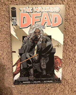 The Walking Dead #108 1st Appearance of Ezekiel & Shiva HIGH GRADE Key Issue