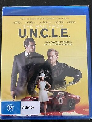 The Man From U.n.c.l.e.*****Blu-Ray*****Region B*****New & Sealed