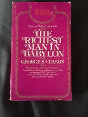 THE RICHEST MAN IN BABYLON - By GEORGE S. CLASON - FREE POSTAGE