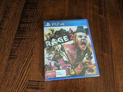 Rage 2 PS4 Brand New Sealed