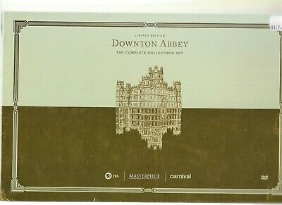Sealed DOWNTON ABBEY The Complete Set LIMITED EDITION DVD Television TV Series