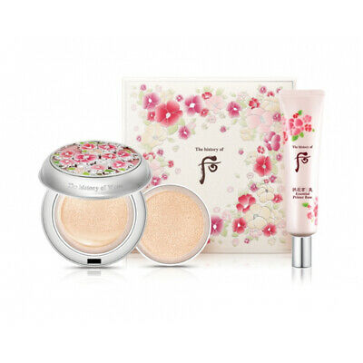 The History of Whoo Radiant White Moisture Cushion Foundation Special Set No.21