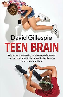 Teen Brain by David Gillespie Paperback Book