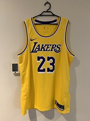 competitive price b3620 b10c6 LeBron James Los Angeles Lakers Nike 2018 19 Swingman Jersey Gold - Icon  Edition