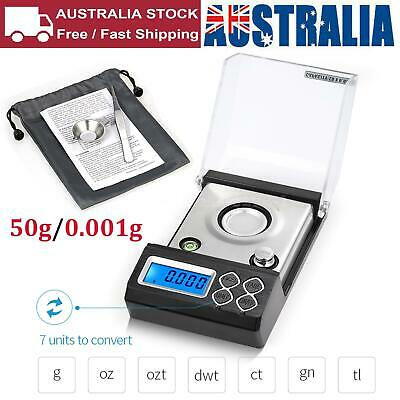 High Precision Milligram Scale 50g/0.001g Electronic Balance Powder Scale