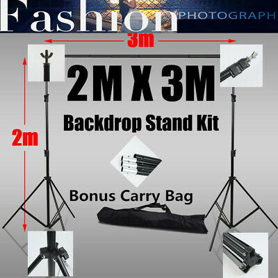 Studio Heavy-Duty Backdrop Stand Screen Background Support Stand KIT-Photography
