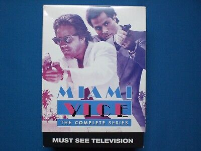 Miami Vice: The Complete Series (DVD, 2016, 20-Disc Set) Like New-Bought New