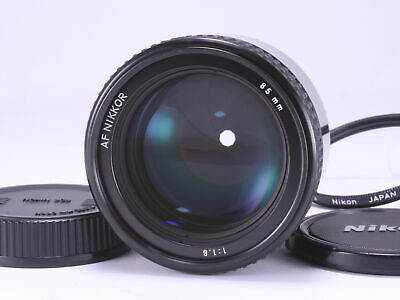 Excellent Nikon AF NIKKOR 85mm F1.8 Prime Lens From Japan