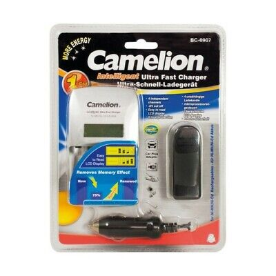 NL BC-0907 Camelion BC-0907 AA AAA Ultrasnelle batterijlader
