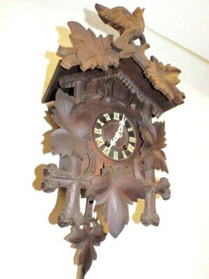 Black Forest Cuckoo Clock Spring Windup For A Easy Restauration