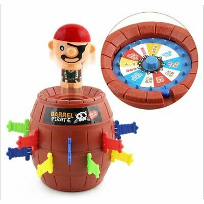 Kids Funny Gadget Pirate Barrel Game Toys for Children Lucky Toy hy
