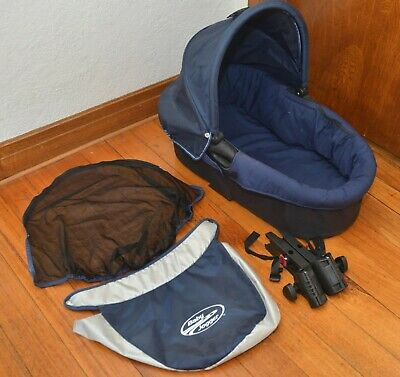 Baby Jogger Deluxe Bassinet with adaptors - single owner, only a few months use