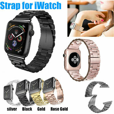 For Apple Watch iWatch Stainless Steel Band Link Bracelet Strap 38mm/42mm