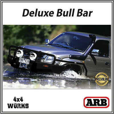 ARB Bull Bar Toyota Hilux 2002-05 Deluxe Winch Bumper