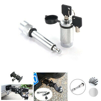1x Stainless Steel Hitch Pin Lock Tow Bar Ball Truck Trailer Coupler Locking