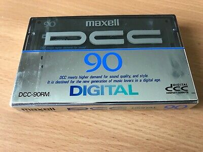 New & Sealed Maxell  Digital Compact Cassette Dcc 90 Minutes