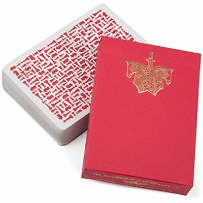 Red Knights Playing Cards Deck – By Daniel Madison and Chris Ramsay – For