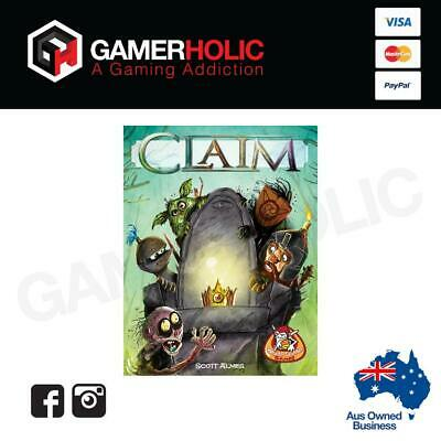 Claim Board Game Card Game Brand New PREORDER