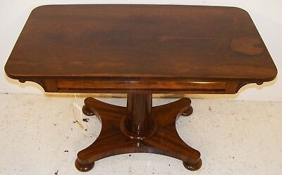 Good Quality Antique 19Th Century Rosewood Centre Sofa Table