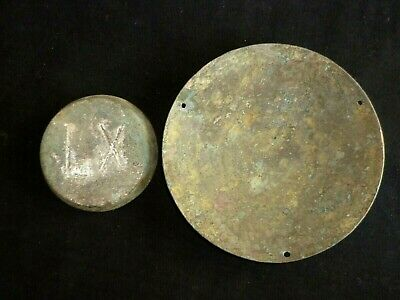 ROMAN Artefacts Bronze TRADE WEIGHT and SCALE - Circa 200-400 AD         -113