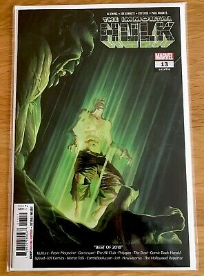 The Immortal Hulk #13 1st Print Alex Ross Cover new bagged and boarded Hot