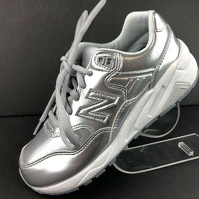 the best attitude 45791 59f59 NEW BALANCE WRT580MS Silver Color Trainers Running Athletic Shoes Womens  Size 5