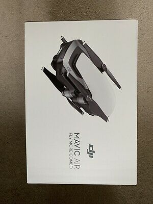 MAVIC AIR FLY MORE COMBO (UK) ARTIC WHITE + Rarely used / New NF Filters