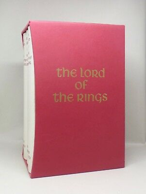 THE LORD OF THE RINGS ~ J.R.R. Tolkien ~ The Folio Society ~ Rare Box Set 1995