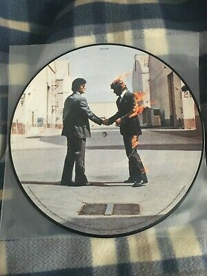 """Pink Floyd - Wish You Were Here - Very Rare 12"""" Vinyl Picture Disc Lp Limited Ed"""