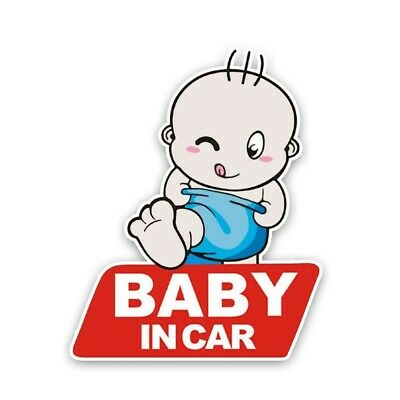 Baby On Board Distance Kids Sticker Decal Girl Boy Child Funny Novelty Car Van