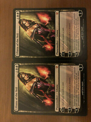 *TWO* Liliana of the Veil NM  ISD Innistrad MTG