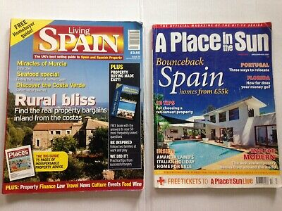 Living Spain / A Place In The Sun Magazines Murcia Almeria Costa Blanca Surfing