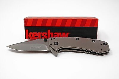Kershaw Cryo Knife, #1555TI, Titanium Carbo-Nitride Coating