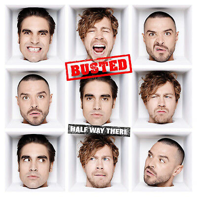 Busted - Half Way There - CD Album (Released 1st February 2019) Brand New