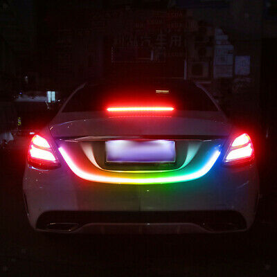 LED Car Trunk Lighting Neon Strip Car Flessibile decorativo lampada striscia