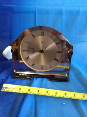 Glass Mirror & Bakelite Vintage Smiths Electric Mantle/shelf Clock
