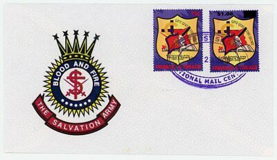 Trinidad & Tobago Salvation Army Overprint Commemorative Cover #2!