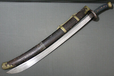 A fine Chinese niuwedao sabre (sword) - Qing dynasty, China 19th century