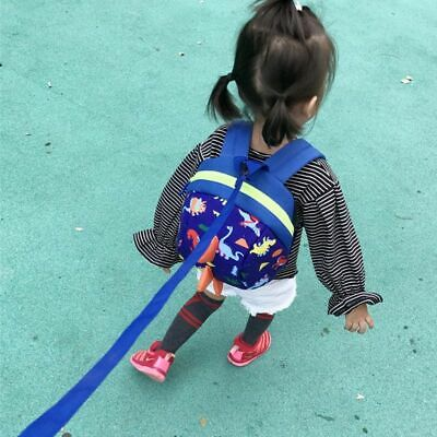 Anti Lost Backpack Safety Harness Leash Strap Bag For Walking Toddlers Baby Kids