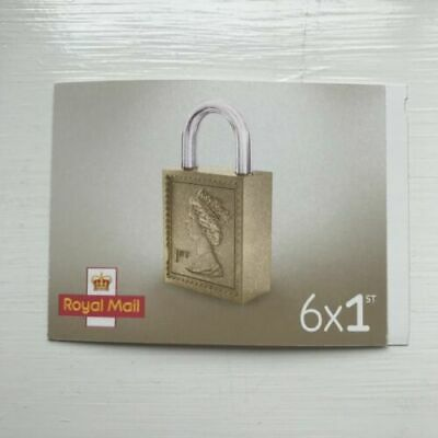6 x First | 1st Class Royal Mail Stamps | Letter | Self Adhesive